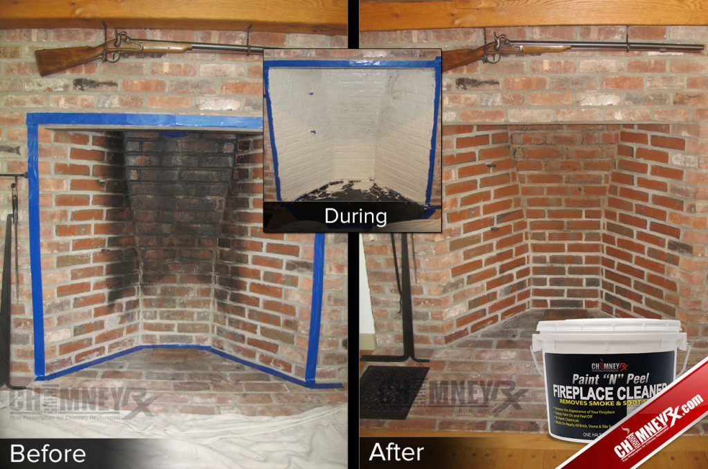 Chimney Rx Paint N L Fireplace Cleaner. Me Painting Brick Fireplace - Removing Paint From Interior Brick Fireplace - Best Fireplace 2017