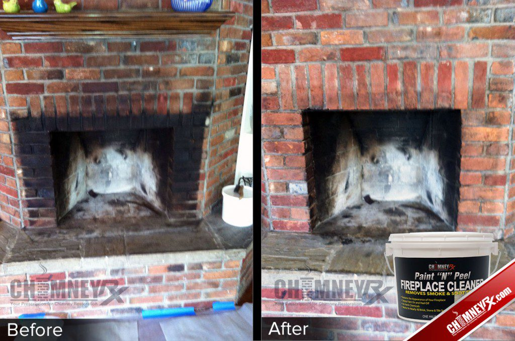 How To Remove Soot From Fireplace Brick Fireplaces