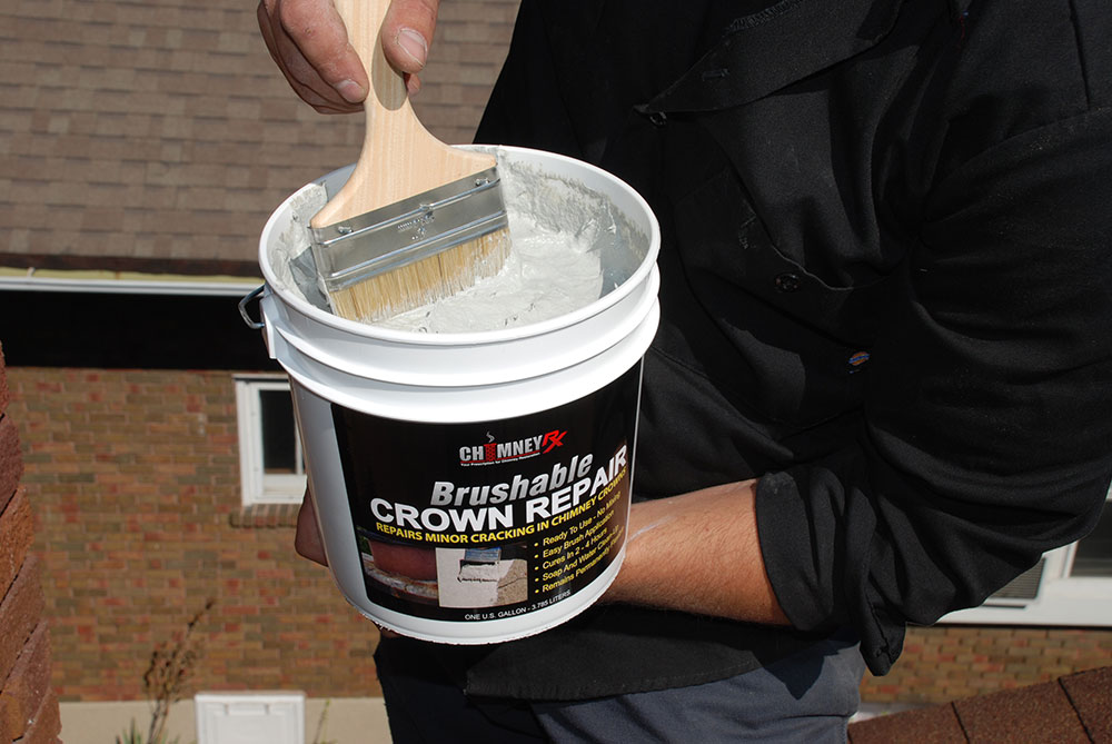 Brushable Crown Repair Chimney Rx