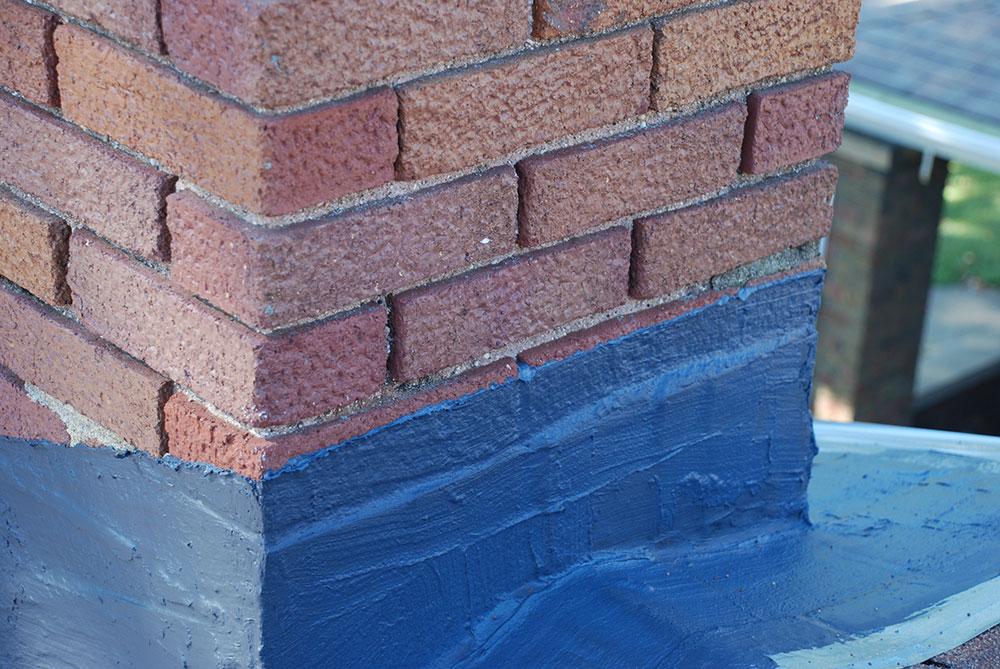 Elastomeric Sheet Waterproofing : Black elastomeric flashing sealant chimney rx