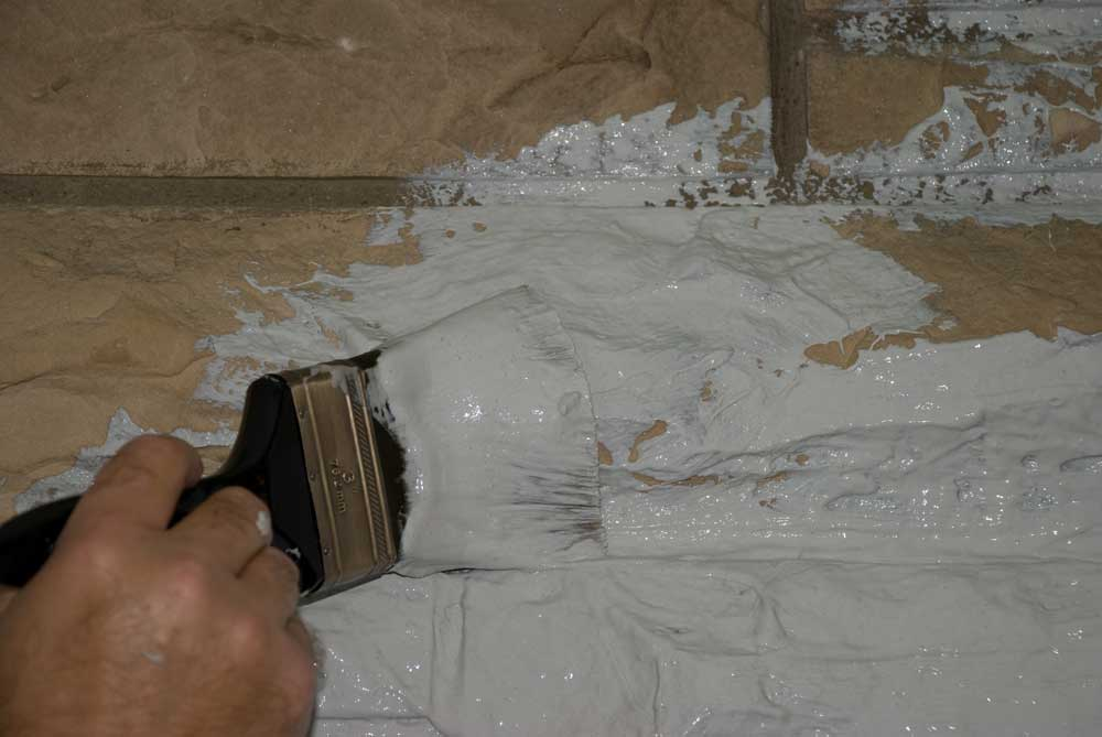 Stripping paint off brick fireplace fireplaces - Removing paint from brick exterior collection ...