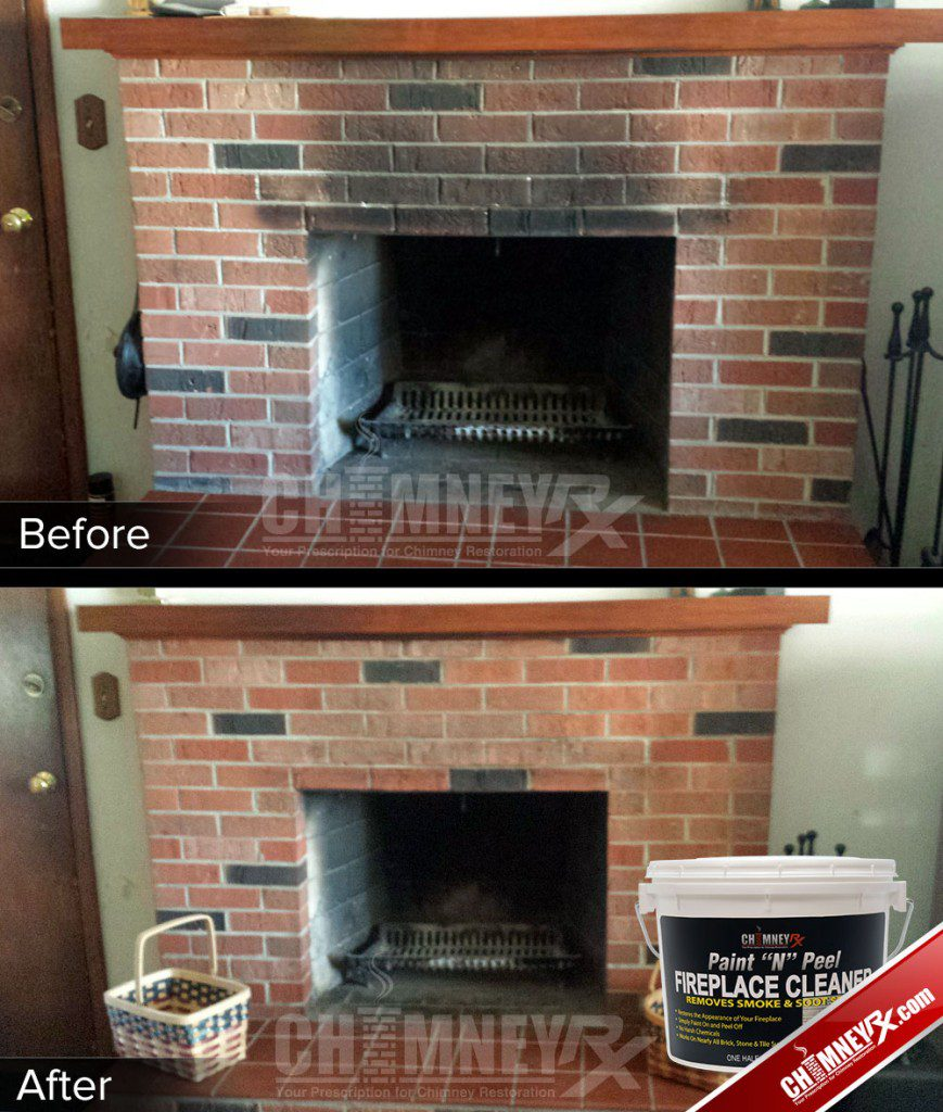 Chimney Rx Paint N Peel Fireplace Cleaner Chimney Rx