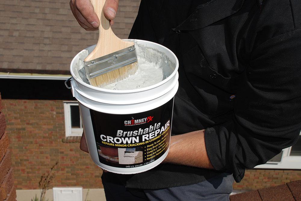 Brushable Bucket Brush Chimney Rx