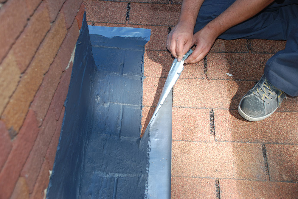 Black Elastomeric Flashing Sealant Chimney Rx